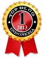 TopBlogIndonesia.com Award 2013