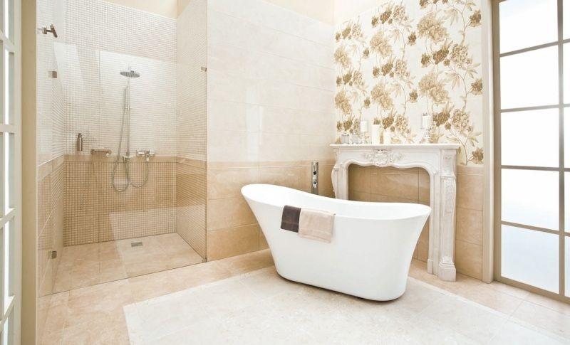 Fotos ideas para decorar casas for Banos marmol beige
