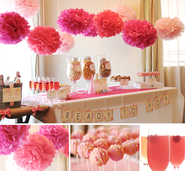 This READY TO POP BABY SHOWER submitted by Cristina Prusz of Le Partie