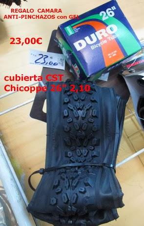 "Promocion CST 26"" btt Chicopee"