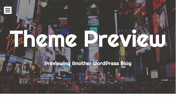 Eighties Wordpress theme
