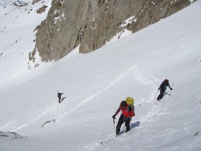 Cara oeste del Col de Basiero.