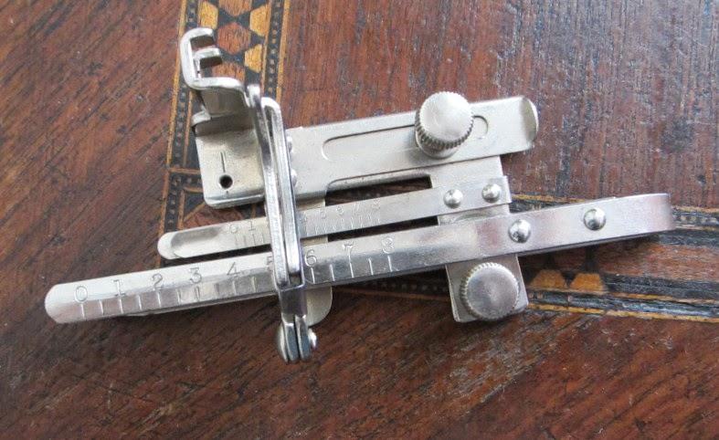 Identification d'accessoires pour des machines à coudre anciennes Gmp