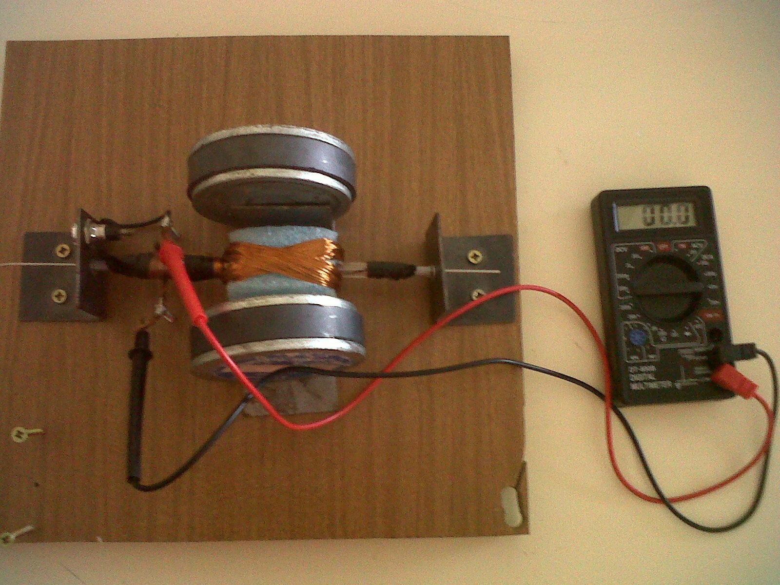 Bioalumnos generador de corriente alterna er gaviota - Generador de corriente ...