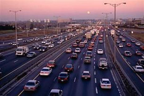 Widest Highway in the world - Highway 401 Canada photos