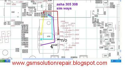 nokia asha 305 and 308 sim jumper mobile repearing world rh mobilerepearingworld blogspot com Nokia Touchscreen Manuals Nokia Lumia 520 Manual
