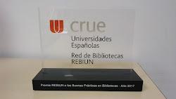 Primer Premio REBIUN a las Buenas Prácticas en Bibliotecas