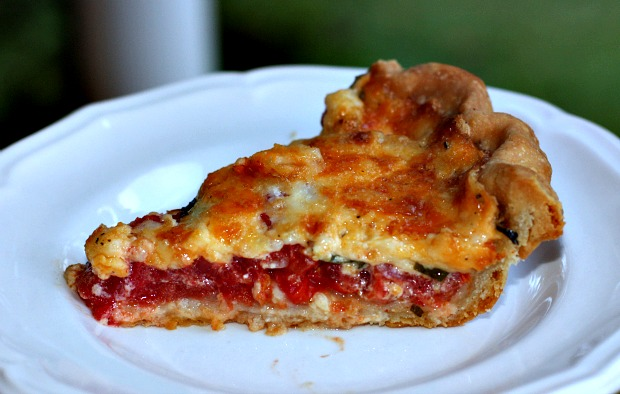Recipes For Divine Living: Tomato Pie