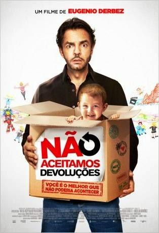 """Poster do filme """"Não Aceitamos Devoluções"""""""