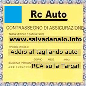 assicurazione auto in base alla targa