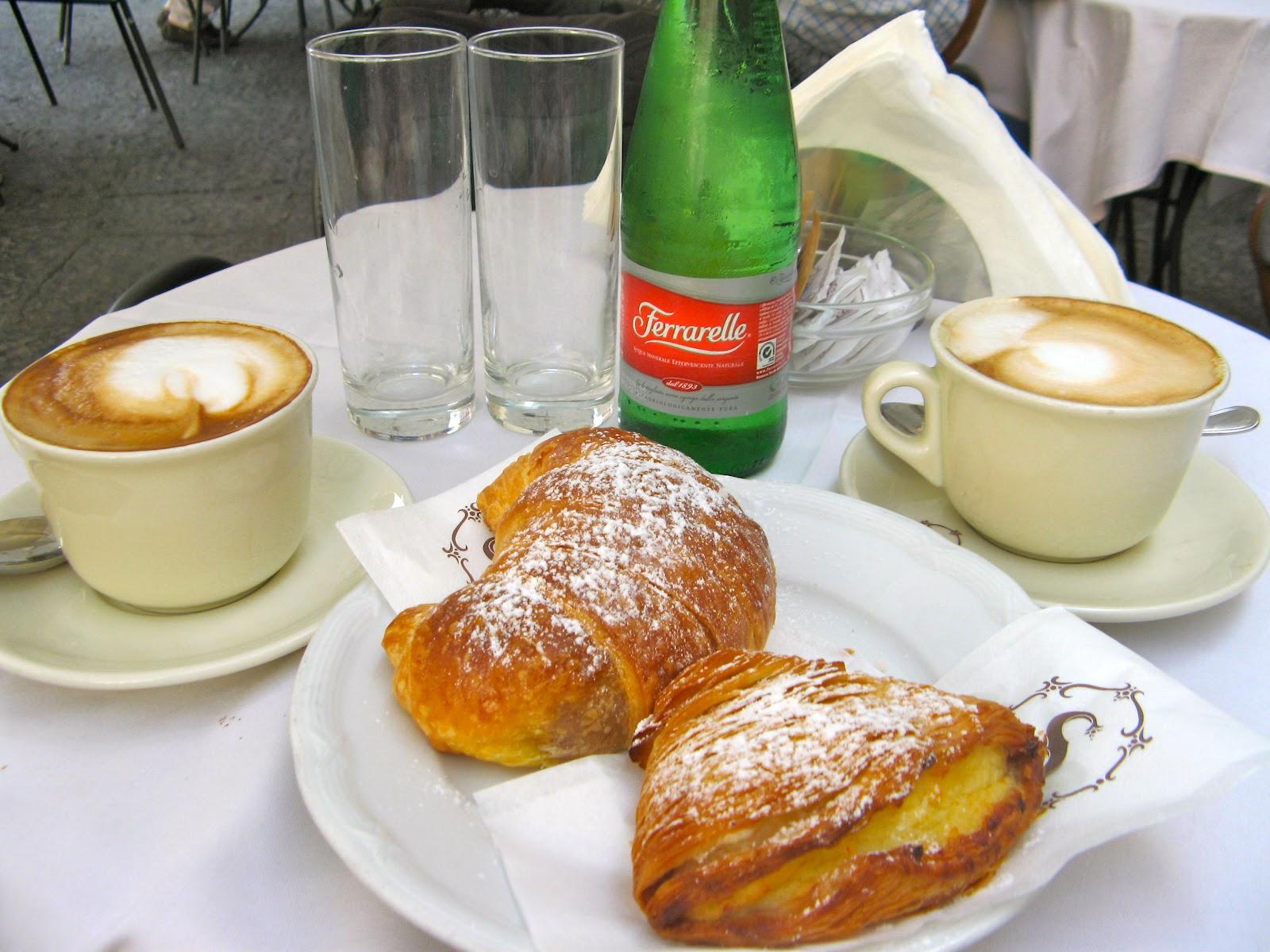 Breakfast in italy saluto italia the italian way for Italian breakfast