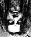 Upside down Rob Zombie.