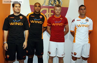 AS Roma players Football