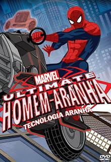 Ultimate Homem-Aranha: Tecnologia Aranha - DVDRip Dual Áudio