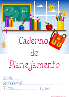 abertura para caderno de planejamento capa caderno para imprimir