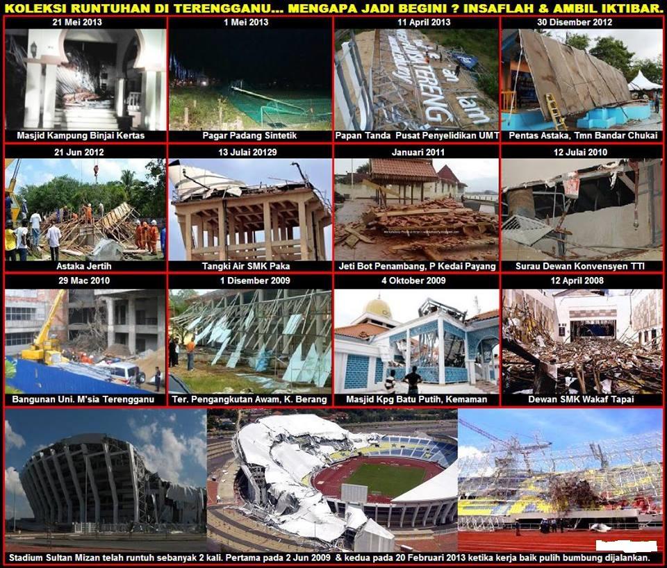 satu renungan - runtuhan di Terengganu