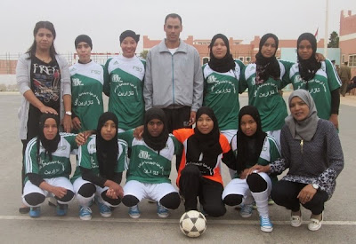 فريق دار الطالبة تازارين بطل الدورة 42 لألعاب مؤسسات الرعاية الاجتماعية في كرة القدم