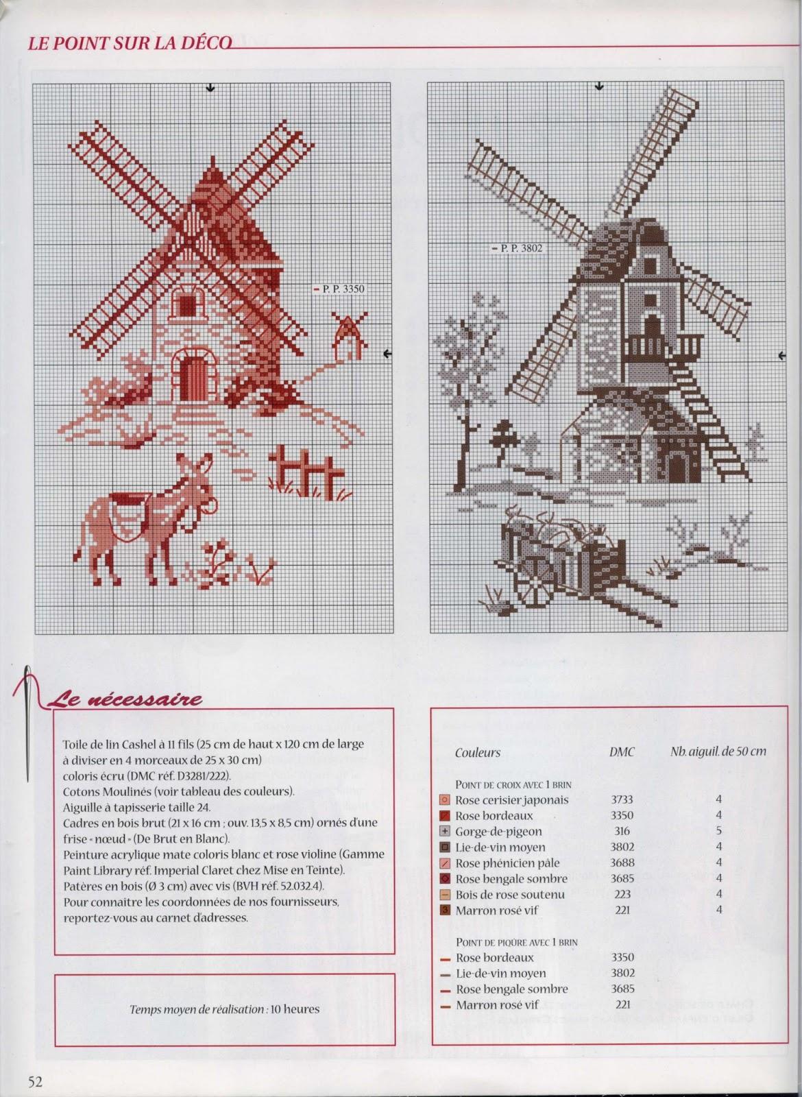 схема бантика для вышивания крестом