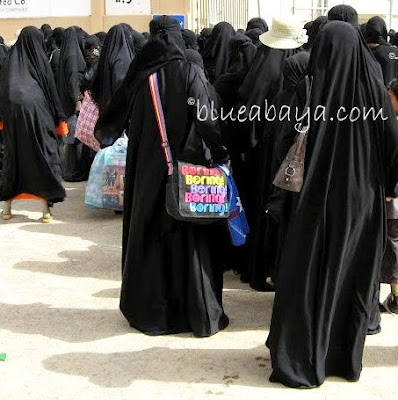 Women in abaya