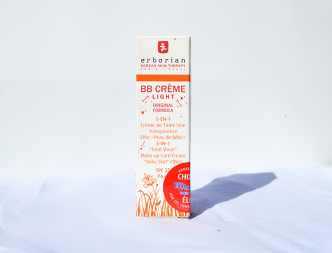 Erborian BB Cream Light Review and Swatches