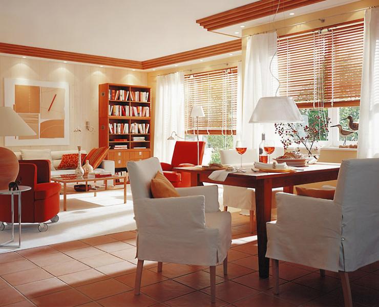 Интериор и мебели: Кът за хранене