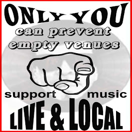 support LIVE & LOCAL music !!