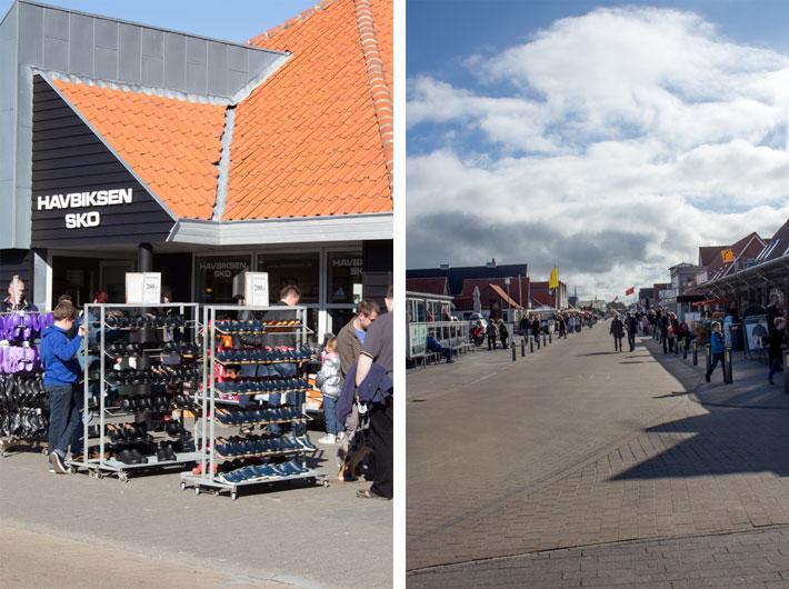 Amalie loves Denmark Shopping am Henne Strand