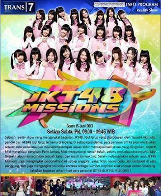 INFO TAYANG JKT48 MISSION DI UBAH!