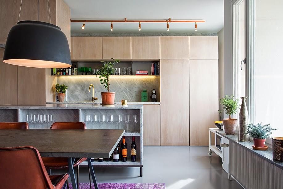 d233couvrir lendroit du d233cor cuisine bois et marbre