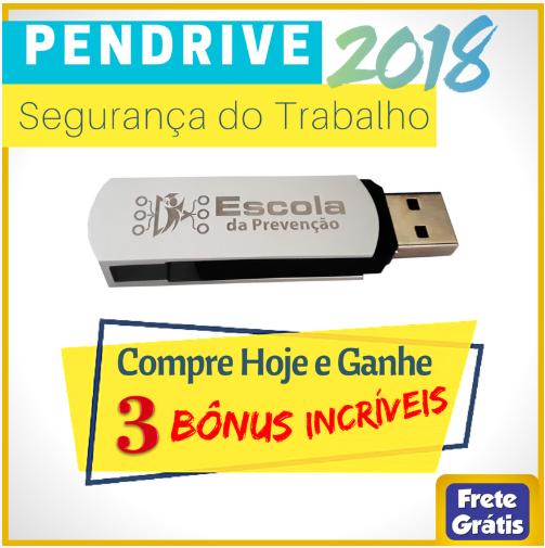 PENDRIVE - SEGURANÇA DO TRABALHO