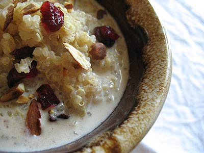Breakfast Quinoa Porridge