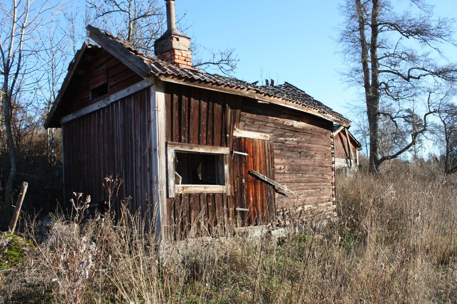 Ruckel och ruiner.: Tvättstuga och jordkällare