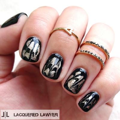 Mock Marble Nails