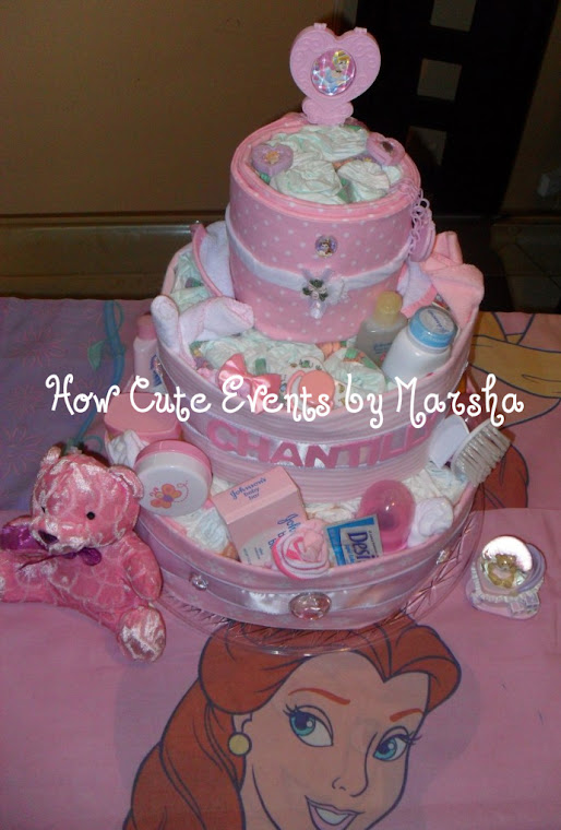 DIAPER CAKES BY MARSHA