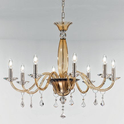Large Murano chandelier for dining room