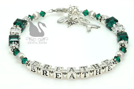 BREATHE Organ Transplant Awareness Bracelet (B195-II)