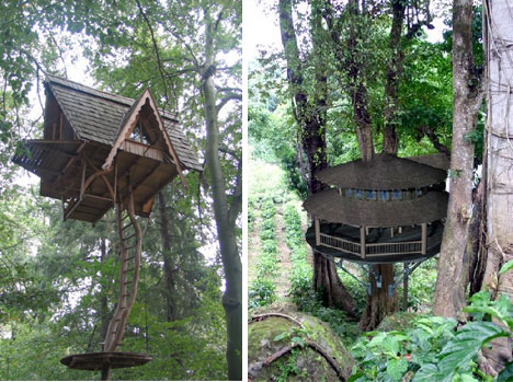 Top Amazing And Wonders 15 More Amazing Tree Houses