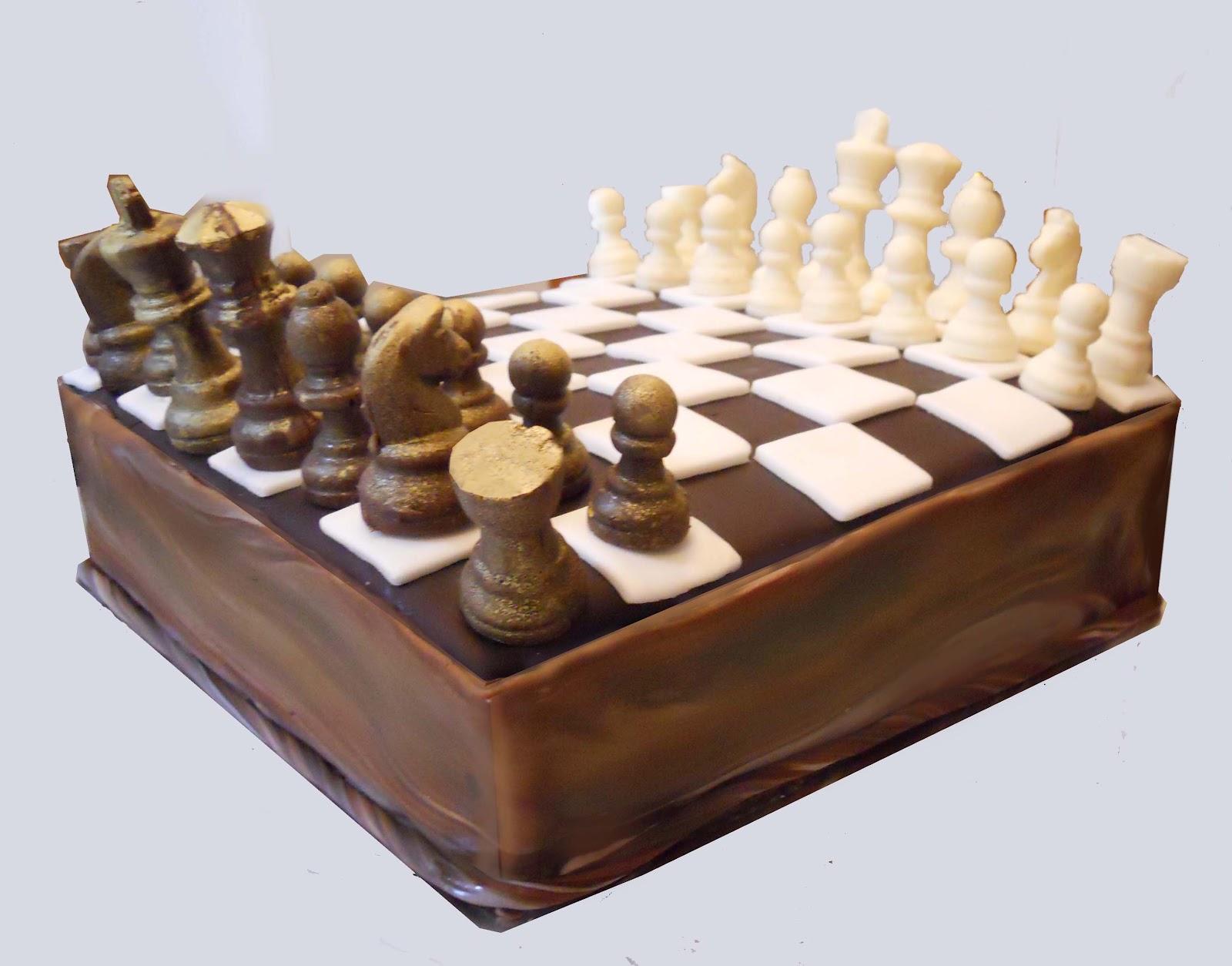 Dark Chocolate Chess