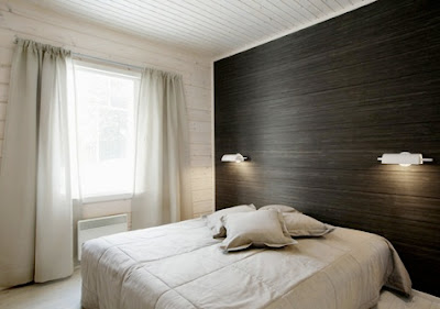 The cuban in my coffee wood feature wall for Black feature wall bedroom
