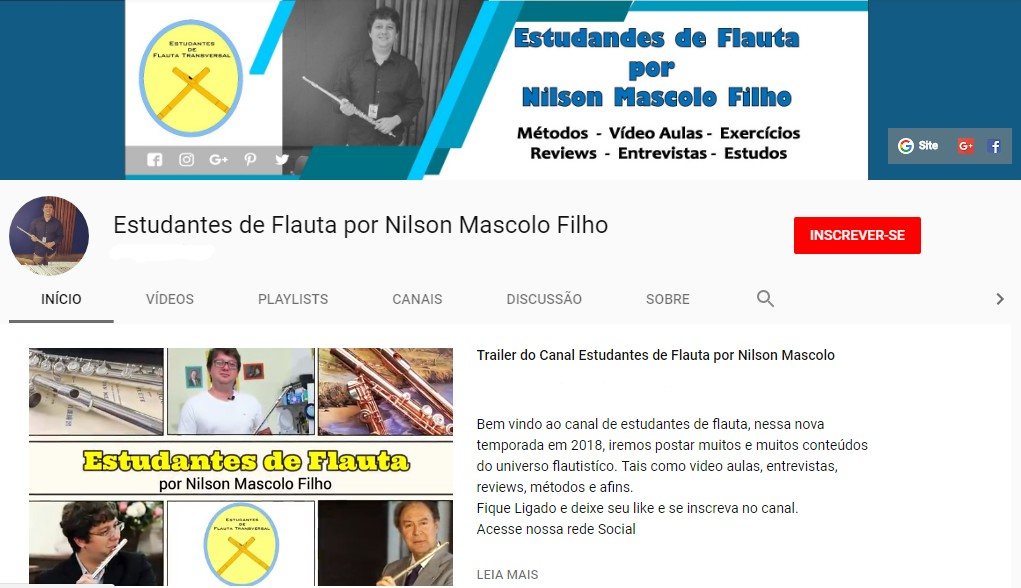Nosso Canal no Youtube