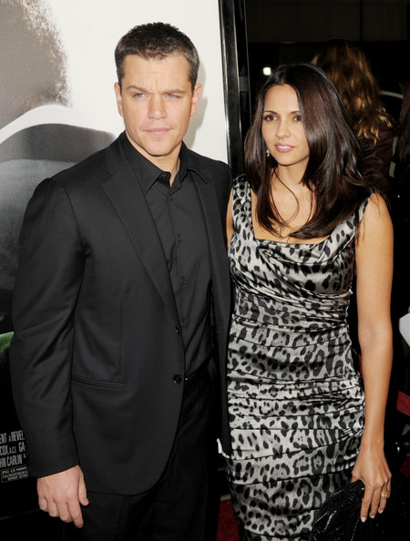 who has matt damon dated