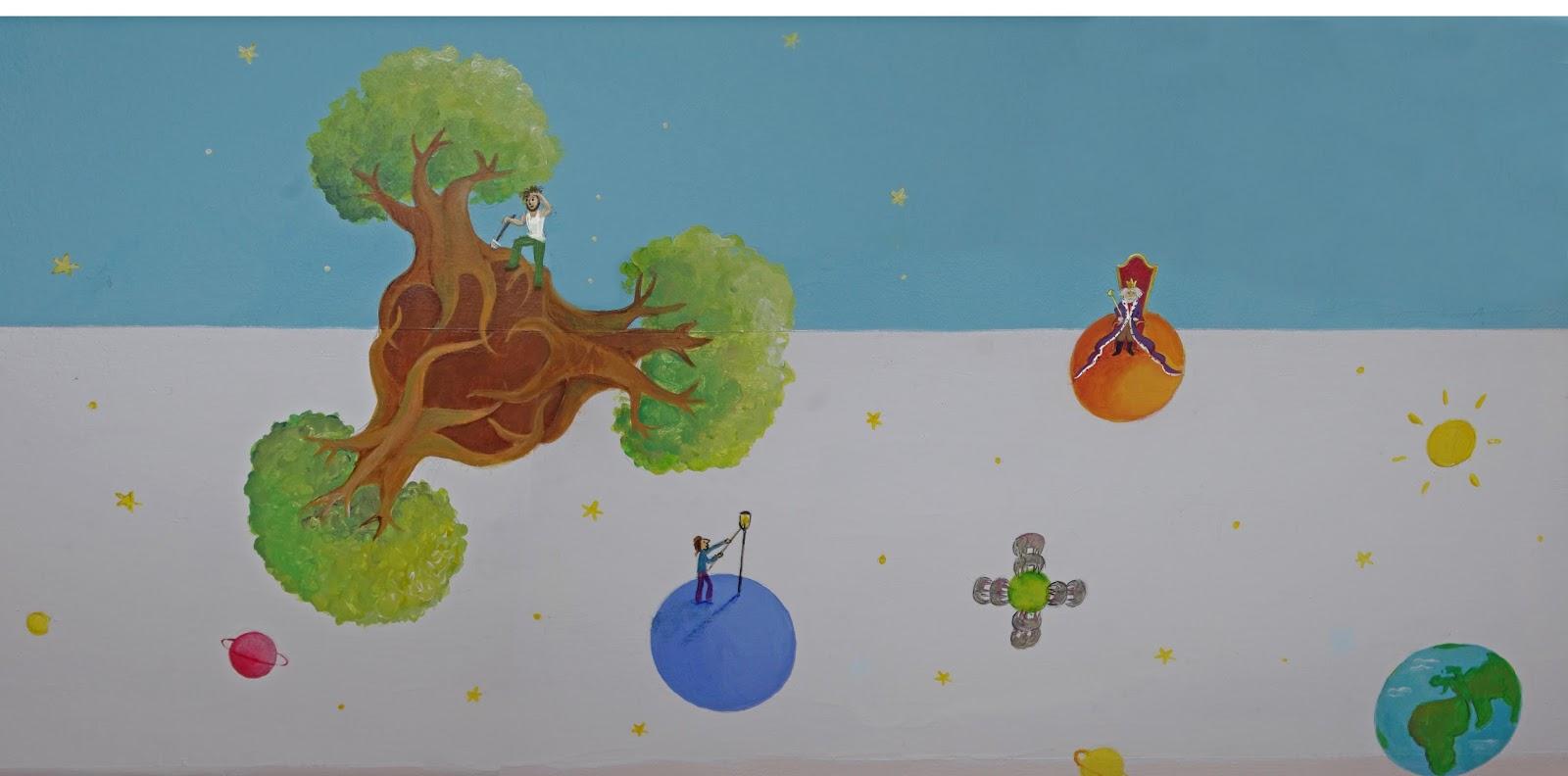 Illu et cie frise murale pour chambre d 39 enfant - Frise petit prince ...