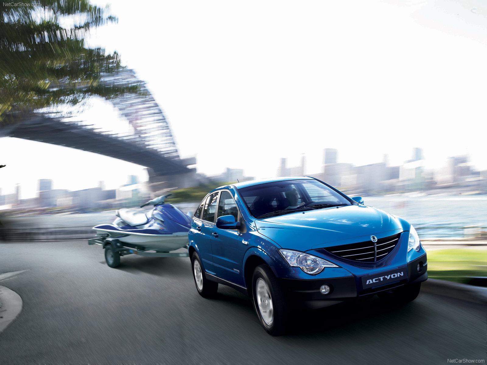 Hình ảnh xe ô tô SsangYong Actyon 2006 & nội ngoại thất