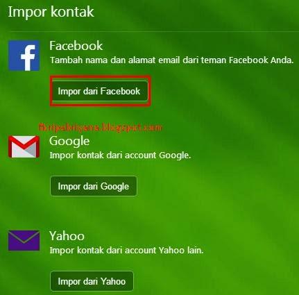 Cara Mengetahui Email Facebook Teman