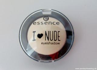 Essence - I love Nude Eyeshadow - 01 Vanilla Sugar - www.annitschkasblog.de