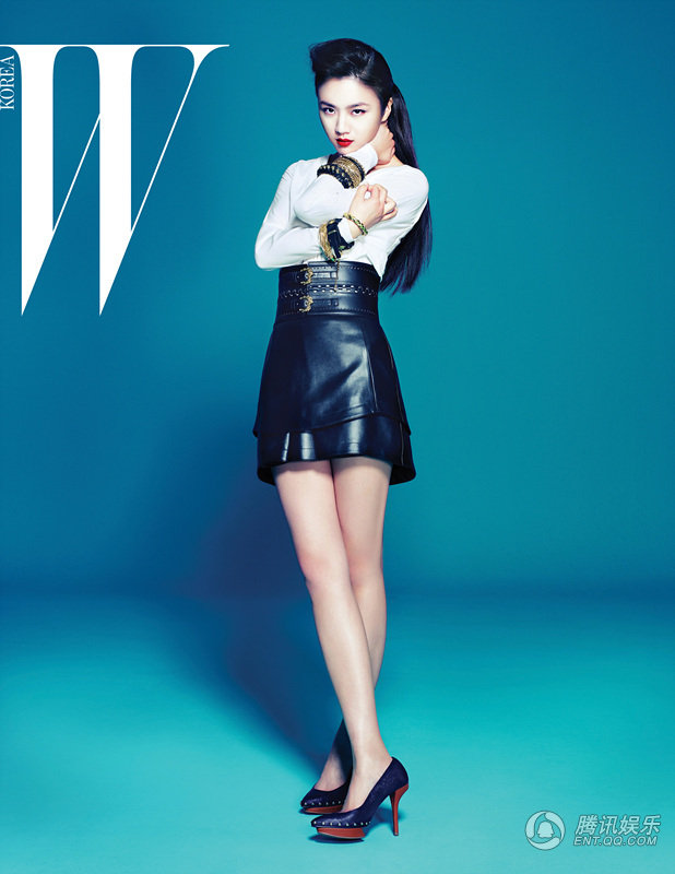 Favorite Hong Kong Actresses Tang Wei Poses For W Korea