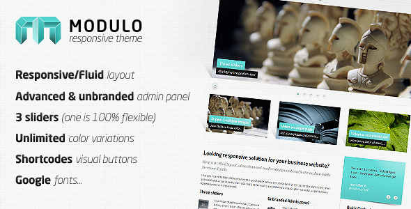 Image for Modulo – Responsive Business Theme by ThemeForest