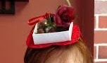 candy box hat