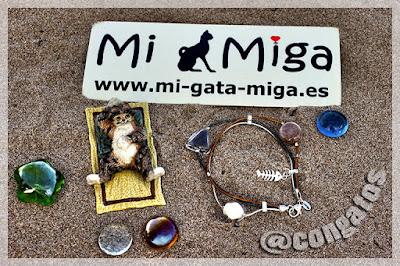 Pulsera Pelo Gato Mi Miga Feline Design