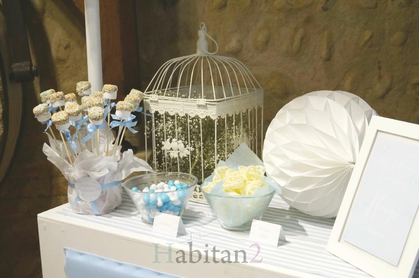 Carrito para mesa dulce para comunión by Habitan2